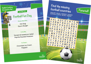 Join in on the Football Fun with a Tasty Theme Day Menu