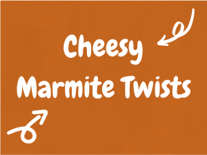 Cheesy Marmite Twists -The Super Yummy Kitchen