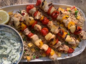 Marinated Chicken & Veg Kebabs – Family Food Cook-Along